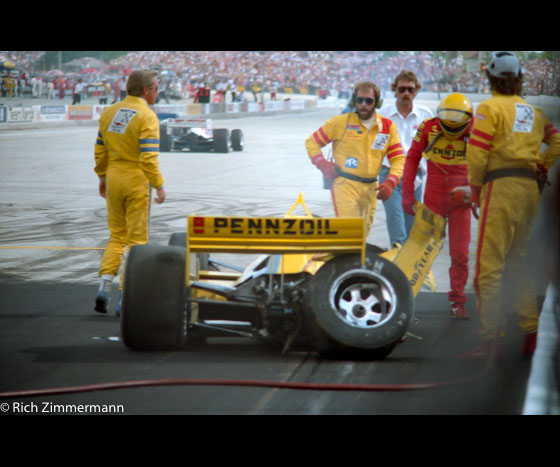 CART 1987 Milwaukee Mile 342012 10 1734 of 50