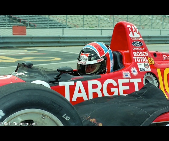 CART 1993 Milwaukee Mile test day 282016 10 2628 of 39