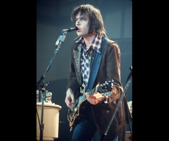 Neil Young at the Milwaukee Auditorium January 5, 1973.