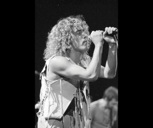 Roger Daltrey of the Who.