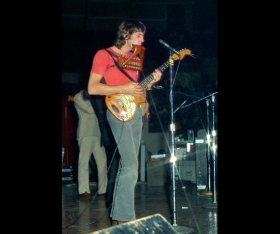John Mayall performing November 27, 1971 at the Milwaukee Arena.