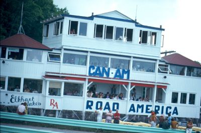 The old start house at Road America.