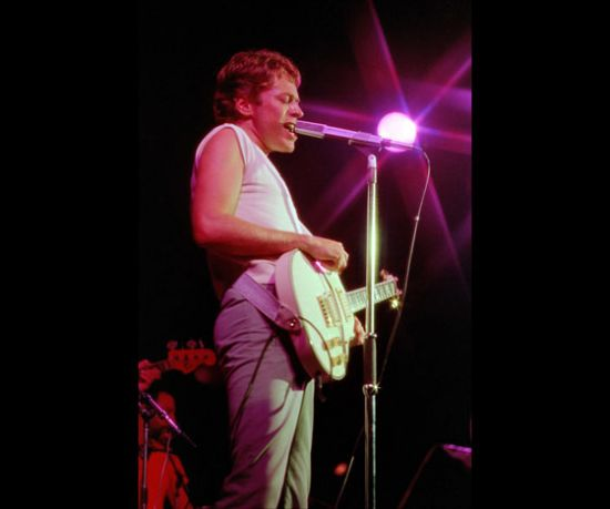 Robert Palmer in the starlight!