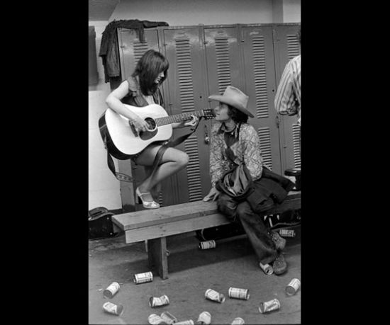 Ramblin Jack Elliott, getting his own concert  by Linda Ronstadt.
